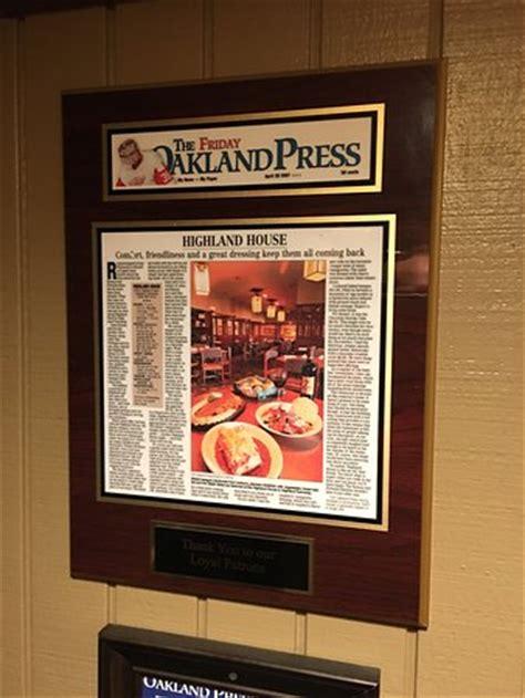 highland house menu photo0 jpg picture of highland house restaurant highland tripadvisor