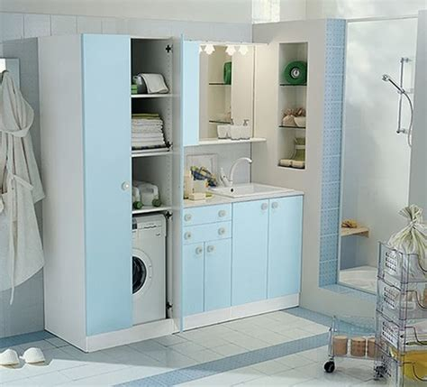 Mesin Cuci Langsung Setrika ide cerdas dan penuh gaya menata ruang cuci pakaian