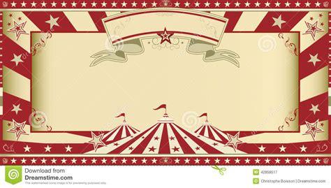 vintage circus invitation template free invitation circus show stock photo image 42858517