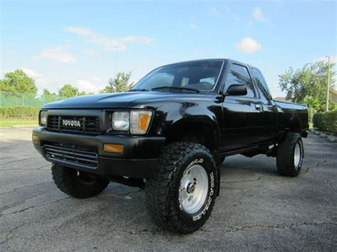 1989 Toyota 22re Sell Used 1989 Toyota Xtra Cab 4wd 5 Speed 22re 4