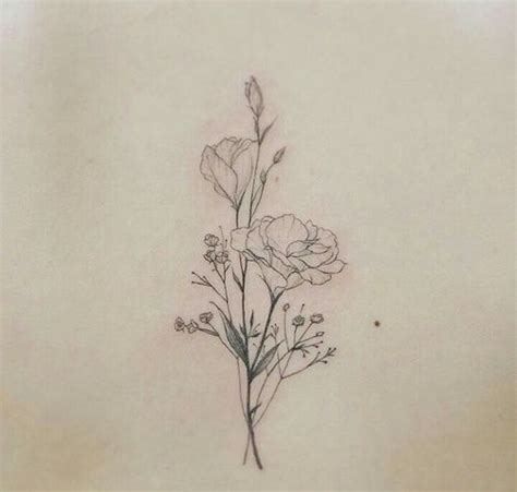 delicate flower tattoos 1000 ideas about flower tattoos on pretty