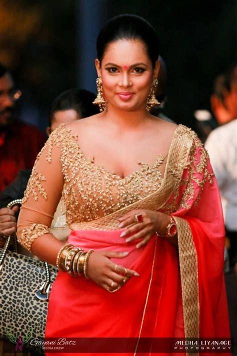sri lankan actress saree designs 2018 sri lankan actress saree b s saree saree blouse blouse