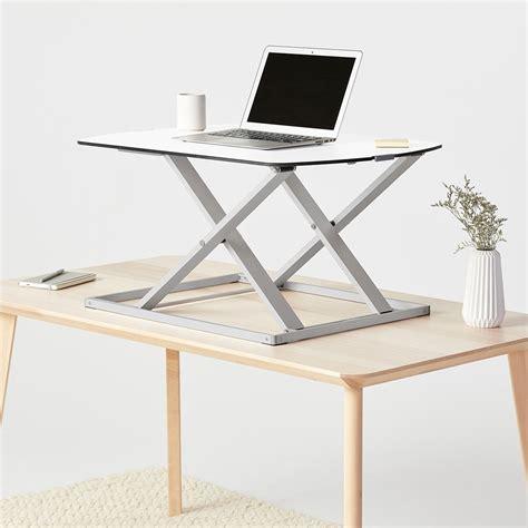 convert standing desk cora standing desk converter fully