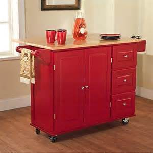 kitchen island microwave cart