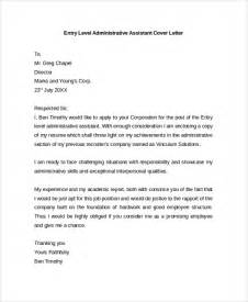 Sample Cover Letter Example Template 29 Free Documents