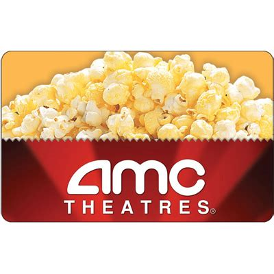 Gift Cards For Movies Theatres - 25 amc gift card w free popcorn voucher 25 mybargainbuddy com