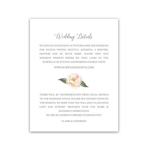 wedding enclosure cards free template wedding save the dates watercolor floral greenery