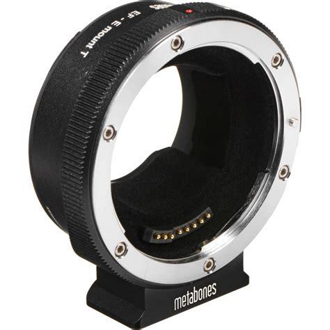 Tp01 Lens Adapter Lensa Canon Ef To Sony E Mount Eos Nex metabones canon ef ef s lens to sony e mount t smart mb ef e bt5