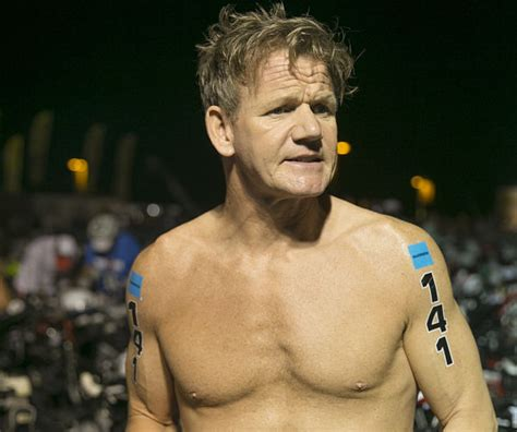 gordon ramsay endures hell finishes hawaii ironman in 14