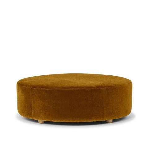 round velvet ottoman best 25 round ottoman ideas on pinterest large ottoman