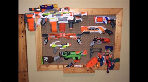 Nerf Gun Rack For Sale by 1000 Ideas About Nerf Gun Storage On Nerf Storage Peg Board Walls And Storage