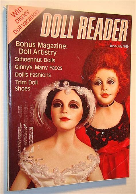 antique doll reader magazine doll reader magazine june july 1989 bonus magazine