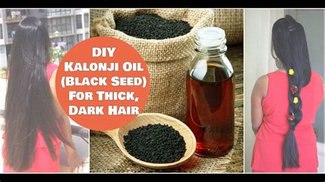 kalojoni seed oil hair scalp diy homemade kalonji black seed oil for treating