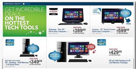 desktop computers best deals best buy releases black friday 2012 preview ad laptop