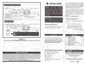 thesamba vdo programmable tachometer