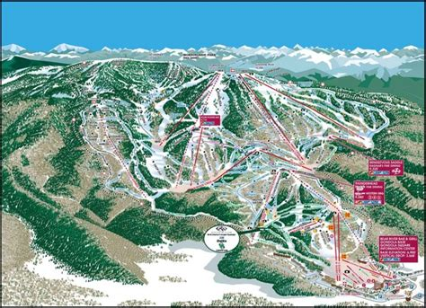 steamboat mountain steamboat springs mountain map steamboat springs