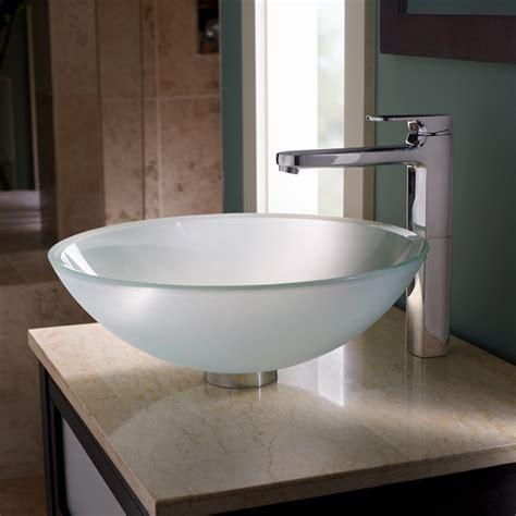 standard vessel sinks dorian glass vessel sink standard