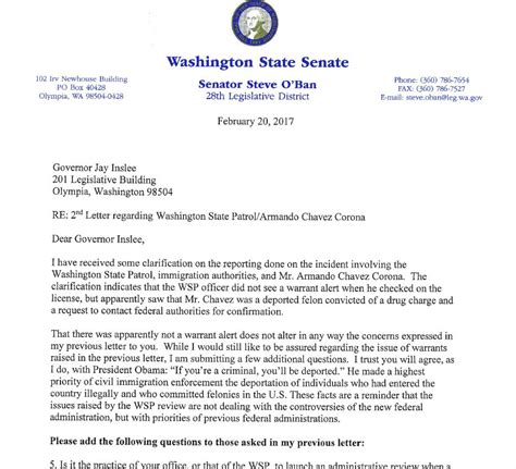 Check Felony Record O Ban Asks Inslee To Support Wsp Checks On Felony Records