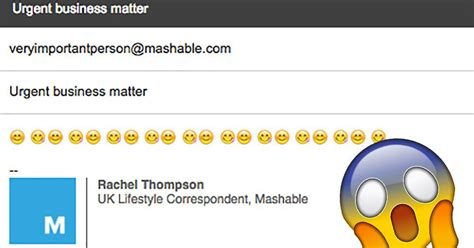 emoji email smiley emoji in your work emails are making you look