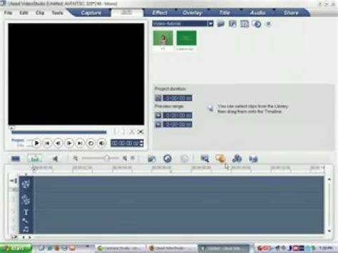 tutorial ulead video studio 10 pdf ulead videostudio 10 tutorial youtube