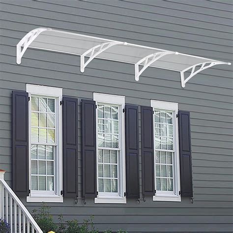 outdoor window awnings and canopies door window outdoor awning hollow sheet sun shade cover