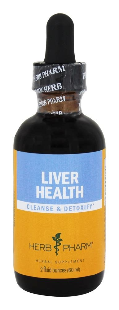 Liver Detox Tincture by Buy Herb Pharm Liver Health Cleanse Detoxify 2 Oz