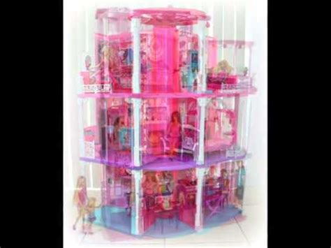 barbie doll houses with elevator beautiful barbie house with elevator youtube