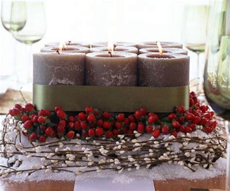 candele sia id 233 es de d 233 coration automnale en mat 233 riaux traditionnels