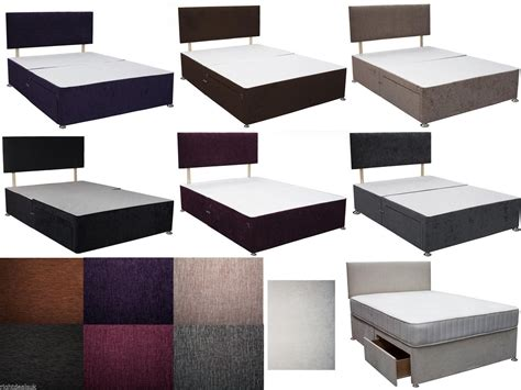 Small Divan Beds With Drawers by Caspian 4ft Small Divan Bed With Drawers