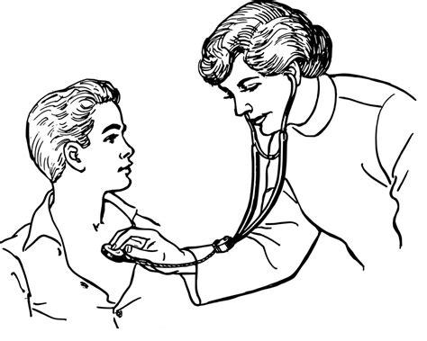 gambar vektor gratis dokter wanita memeriksa anak gambar gratis di pixabay 37707