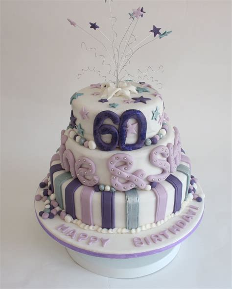 60th Birthday Cake by 5 Currant Buns 60th Birthday Cake