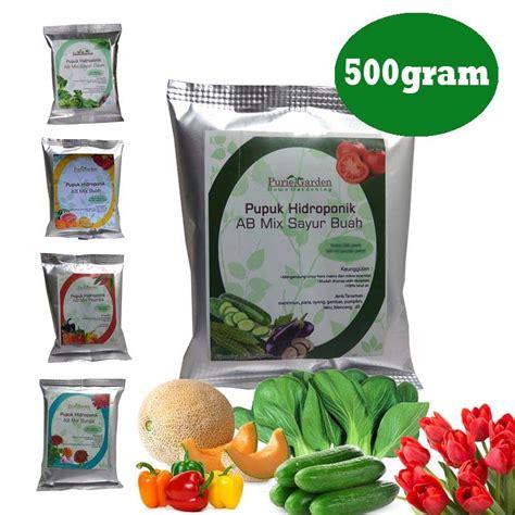Pupuk Ab Mix Buah pupuk nutrisi hidroponik ab mix sayuran buah 500gr