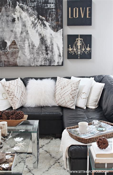 black decor rustic glam living room new rug glam living room