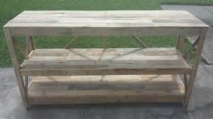 Pallet Console Table Pallet Sideboard 99 Pallets