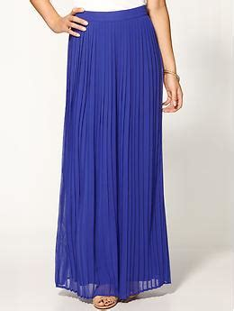 sabine pleated maxi skirt piperlime