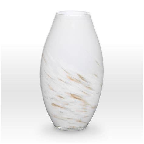 White And Gold Vase by White Gold Vase Sh0114 Viterra Glass Seaway China