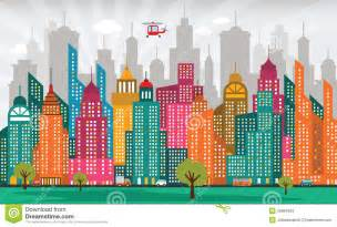 colorful cities colorful city stock photos image 35664853
