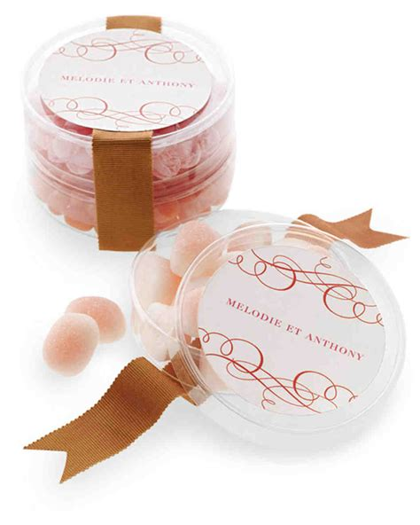Wedding Favors Martha Stewart by 50 Great Wedding Favors Martha Stewart Weddings