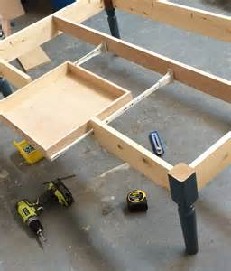 How To Build A Coffee Table With Drawers White Turned Leg Coffee Table With Apron Drawer