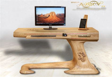 Diy Computer Desk Plans Home Build A Wood Computer Desk Woodworking Plans