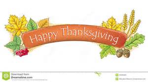 thanksgiving email signatures happy thanksgiving banner stock photo image 45303563