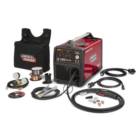 lincoln power mig k3018 2 180 dual mig welder with magnum