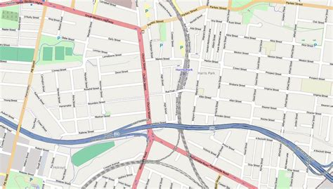 map of streets australian maps