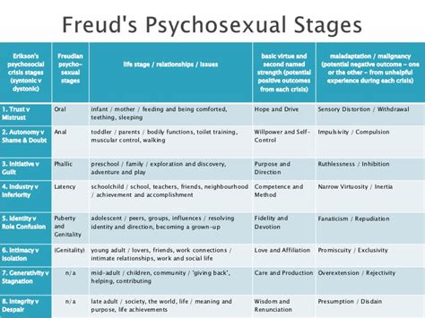 Freud Vs Erikson Essay by Freud Vs Erickson On Stages Of Development Report52 Web Fc2