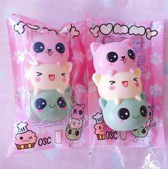 Squishy Dango Squishy Licensed Original yummiibear icecream mascot creamiicandy squishy