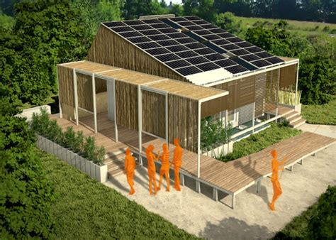 solar powered ek 243 house is a modular smart home