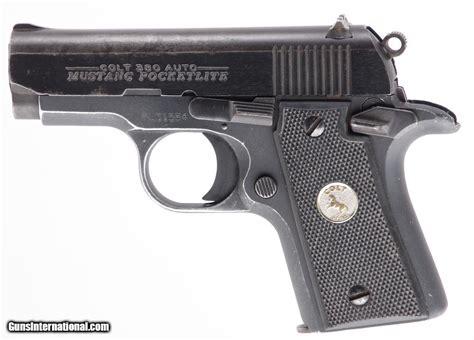 colt mustang pistol colt mustang pocketlite 380 acp sao semi auto pistol with