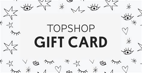 Topshop Gift Cards - topshop official gift card store