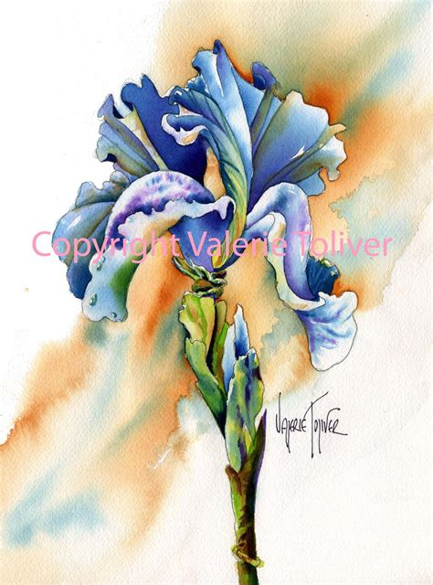 Glass Vase Painting Vivid Illusions In Watercolor