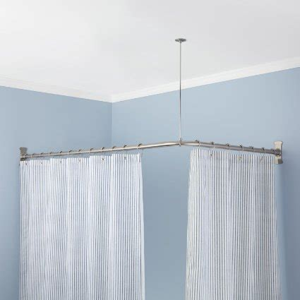 removable curtain rod buy 30 quot indoor outdoor removable shower curtain rod in